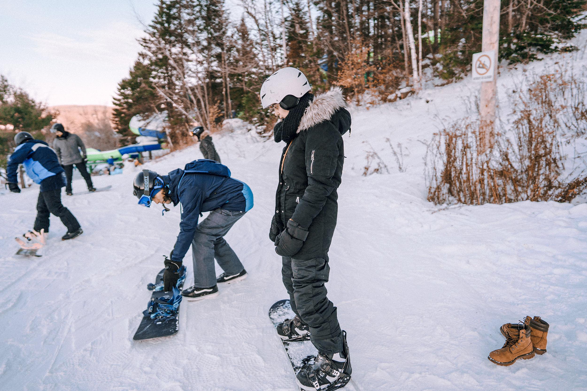 snowboard canadá